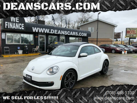 2013 Volkswagen Beetle for sale at DEANSCARS.COM in Bridgeview IL