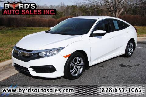 2016 Honda Civic for sale at Byrds Auto Sales in Marion NC