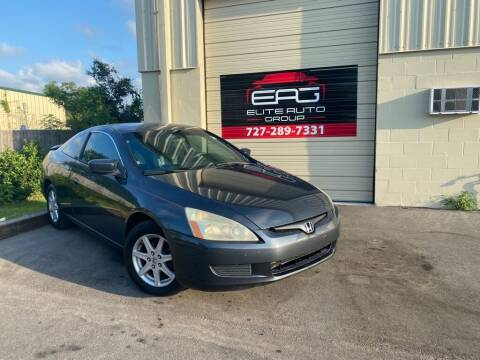 2004 Honda Accord for sale at Elite Auto Group LLC in Pinellas Park FL