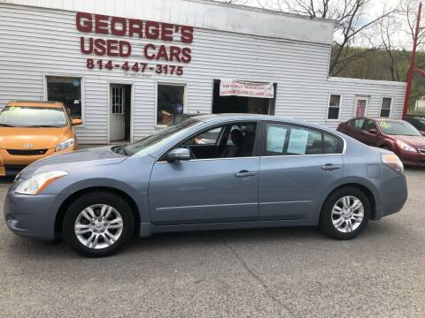 2010 Nissan Altima for sale at George's Used Cars Inc in Orbisonia PA