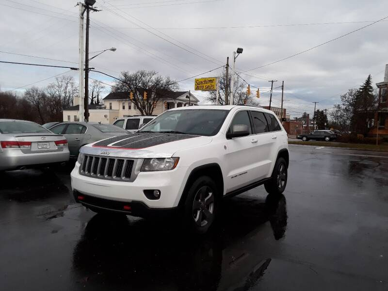 2013 Jeep Grand Cherokee for sale at Sarchione INC in Alliance OH
