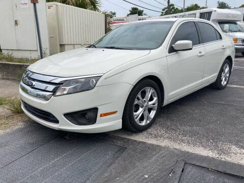 2012 Ford Fusion for sale at Low Price Auto Sales LLC in Palm Harbor FL