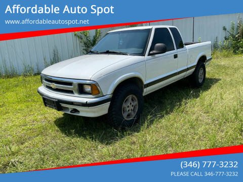 1997 Chevrolet S-10 for sale at Affordable Auto Spot in Houston TX