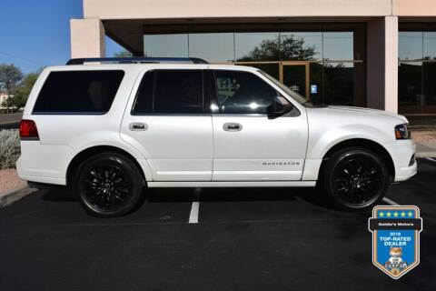 2016 Lincoln Navigator for sale at GOLDIES MOTORS in Phoenix AZ