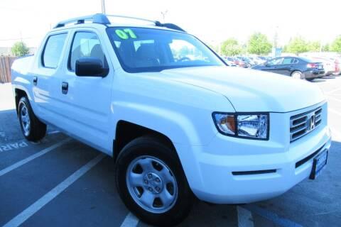 2007 Honda Ridgeline for sale at Choice Auto & Truck in Sacramento CA