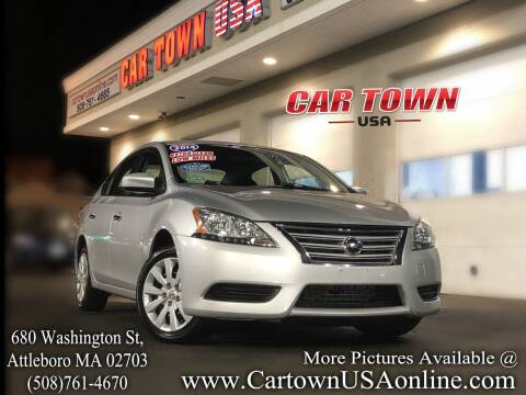 2014 Nissan Sentra for sale at Car Town USA in Attleboro MA