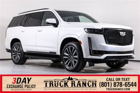 2021 Cadillac Escalade for sale at Truck Ranch in American Fork UT