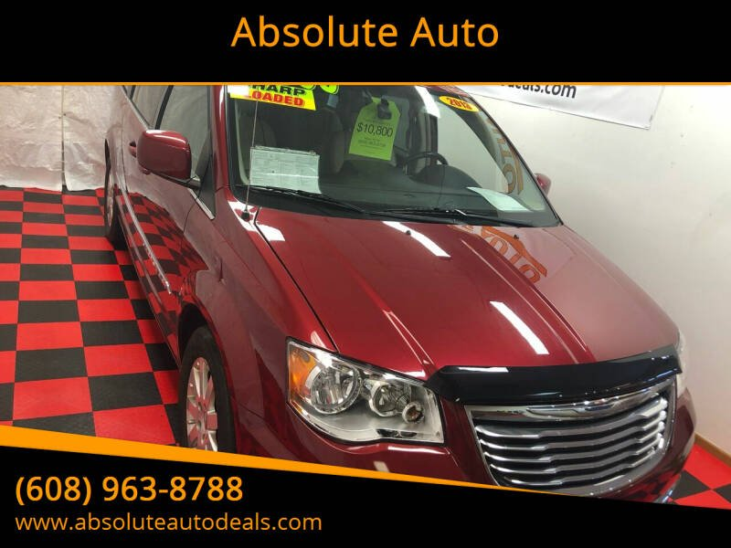 2013 Chrysler Town and Country for sale at Absolute Auto in Baraboo WI