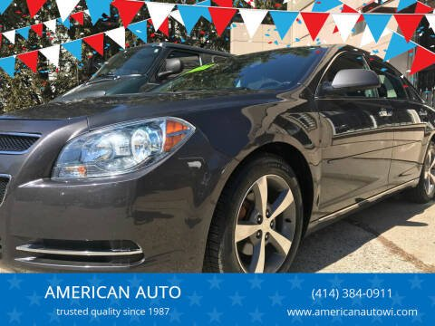 2012 Chevrolet Malibu for sale at AMERICAN AUTO in Milwaukee WI