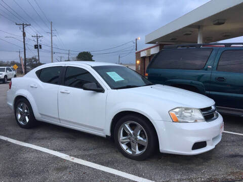 2012 Dodge Avenger for sale at Spartan Auto Sales in Beaumont TX