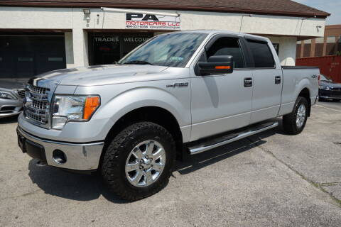 2013 Ford F-150 for sale at PA Motorcars in Conshohocken PA