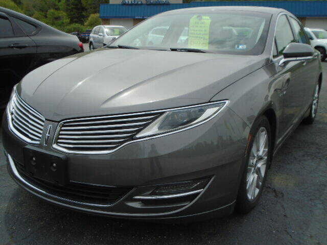 2014 Lincoln MKZ for sale at Rogos Auto Sales in Brockway PA