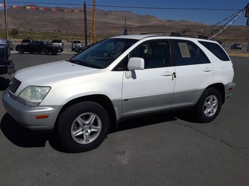 2001 Lexus RX 300 for sale at Super Sport Motors LLC in Carson City NV