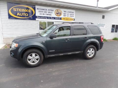 2008 Ford Escape for sale at STEINKE AUTO INC. - Steinke Auto Inc (South) in Clintonville WI