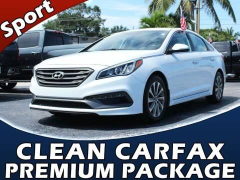 2015 Hyundai Sonata for sale at Palm Beach Auto Wholesale in Lake Park FL