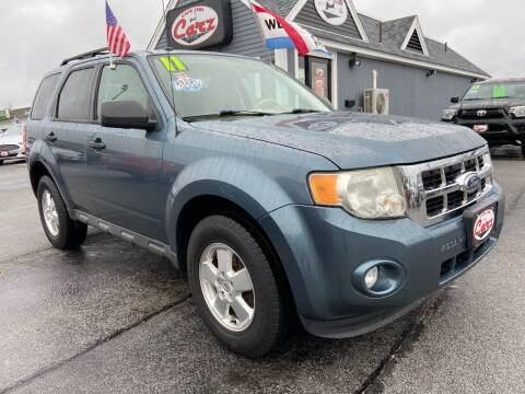 2011 Ford Escape for sale at Cape Cod Carz in Hyannis MA