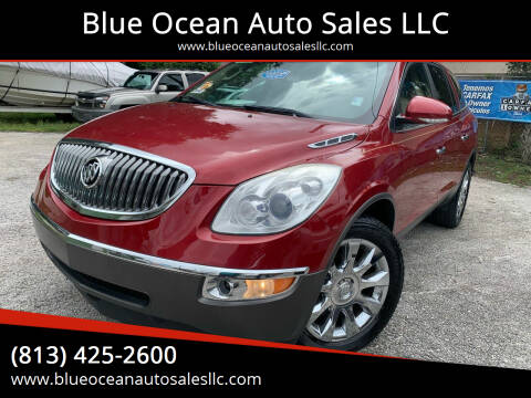 2012 Buick Enclave for sale at Blue Ocean Auto Sales LLC in Tampa FL