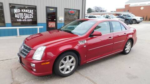 2008 Cadillac STS for sale at Mid Kansas Auto Sales in Pratt KS