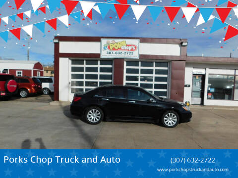 2013 Chrysler 200 for sale at Porks Chop Truck and Auto in Cheyenne WY