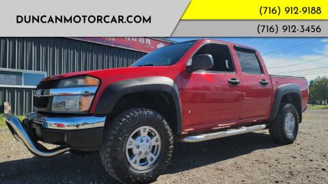 2007 Chevrolet Colorado for sale at DuncanMotorcar.com in Buffalo NY
