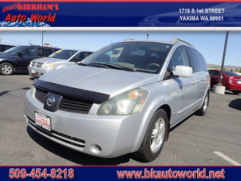 2006 Nissan Quest for sale at Bruce Kirkham Auto World in Yakima WA