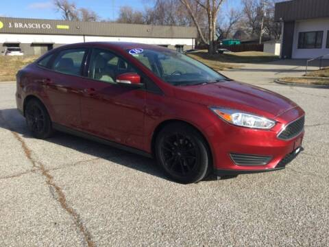 2016 Ford Focus for sale at Sanders Auto Sales in Lincoln NE