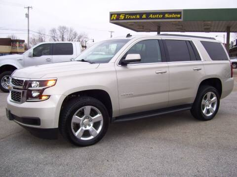 2015 Chevrolet Tahoe for sale at R & S TRUCK & AUTO SALES in Vinita OK