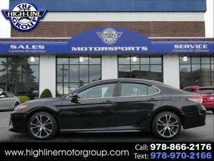 2019 Toyota Camry for sale at Highline Group Motorsports in Lowell MA