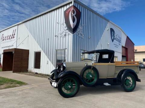 1928 Ford Model A Pickup  for sale at Barrett Auto Gallery in San Juan TX