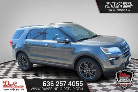 2019 Ford Explorer for sale at Dave Sinclair Chrysler Dodge Jeep Ram in Pacific MO