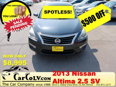2013 Nissan Altima for sale at The Car Company in Las Vegas NV