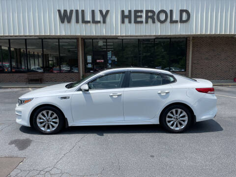 2016 Kia Optima for sale at Willy Herold Automotive in Columbus GA