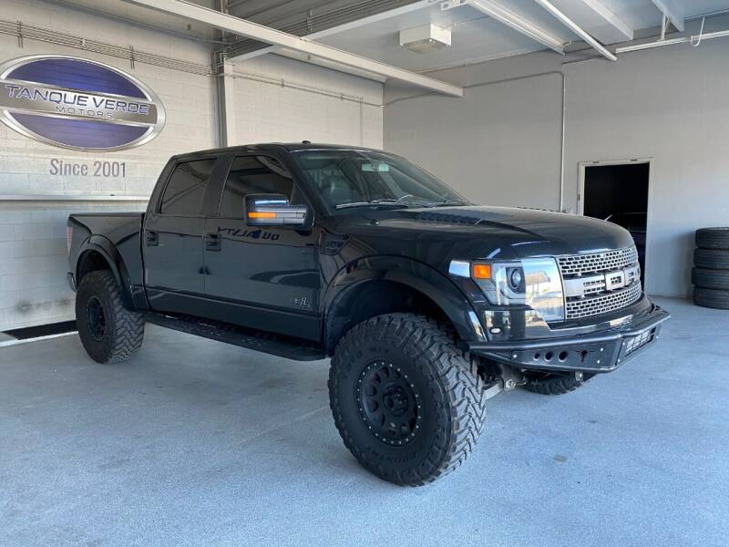 2014 Ford F-150 for sale at TANQUE VERDE MOTORS in Tucson AZ