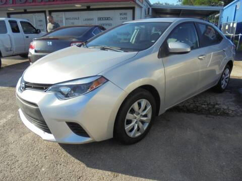 2014 Toyota Corolla for sale at Automax Wholesale Group LLC in Tampa FL
