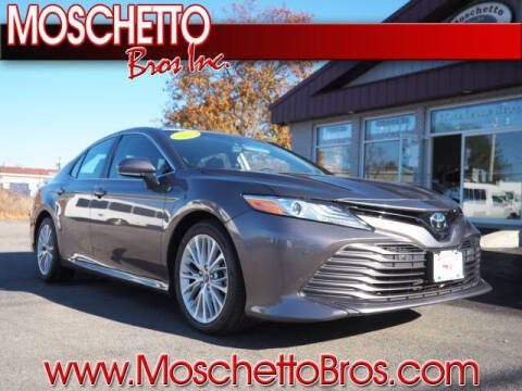 2018 Toyota Camry for sale at Moschetto Bros. Inc in Methuen MA