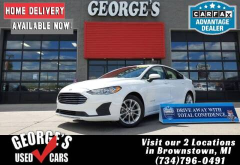 2019 Ford Fusion Hybrid for sale at George's Used Cars - Pennsylvania & Allen in Brownstown MI