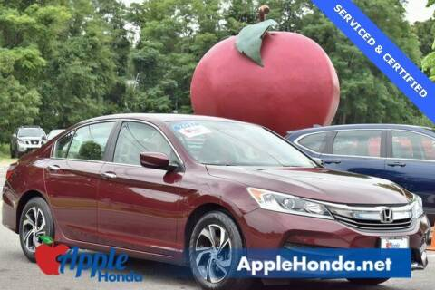 2017 Honda Accord for sale at APPLE HONDA in Riverhead NY