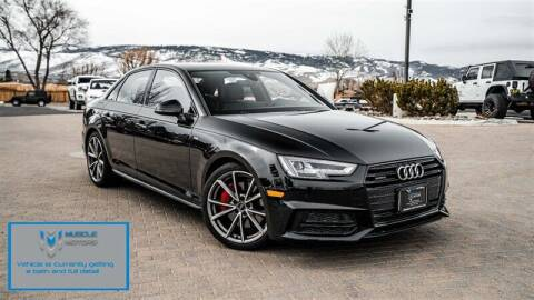 2018 Audi A4 for sale at MUSCLE MOTORS AUTO SALES INC in Reno NV