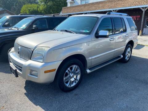 2008 Mercury Mountaineer for sale at TNT Auto Sales in Bangor PA