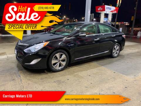 2011 Hyundai Sonata Hybrid for sale at Carriage Motors LTD in Ingleside IL