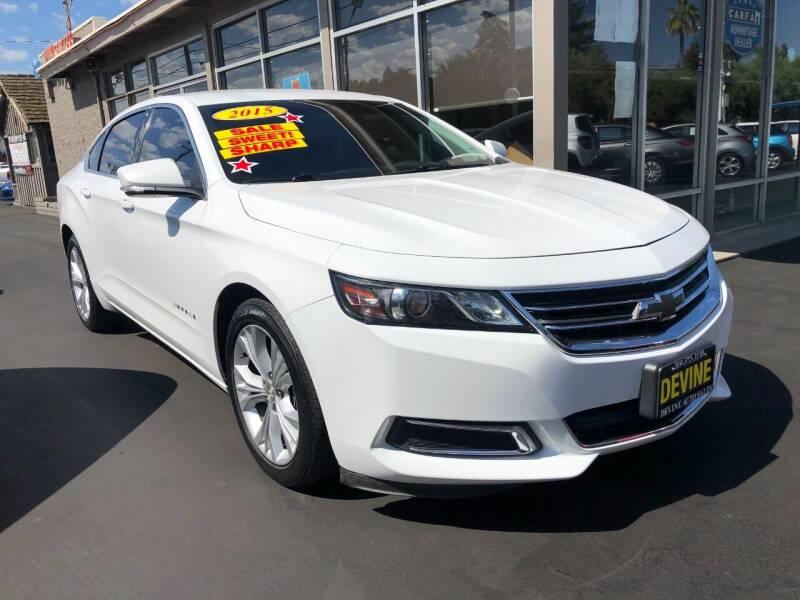 2015 Chevrolet Impala for sale at Devine Auto Sales in Modesto CA