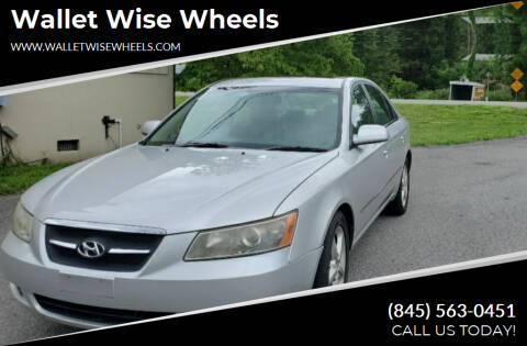 2008 Hyundai Sonata for sale at Wallet Wise Wheels in Montgomery NY