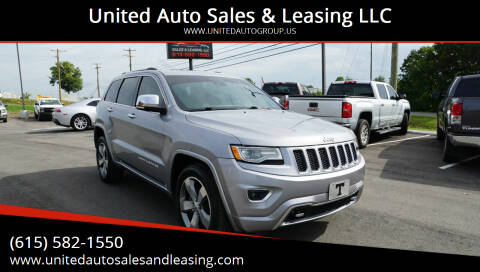 2014 Jeep Grand Cherokee for sale at United Auto Sales & Leasing LLC in La Vergne TN