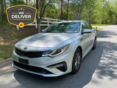 2019 Kia Optima for sale at Premier Auto Solutions & Sales in Quinton VA
