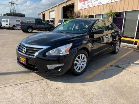 2015 Nissan Altima for sale at Market Street Auto Sales INC in Houston TX