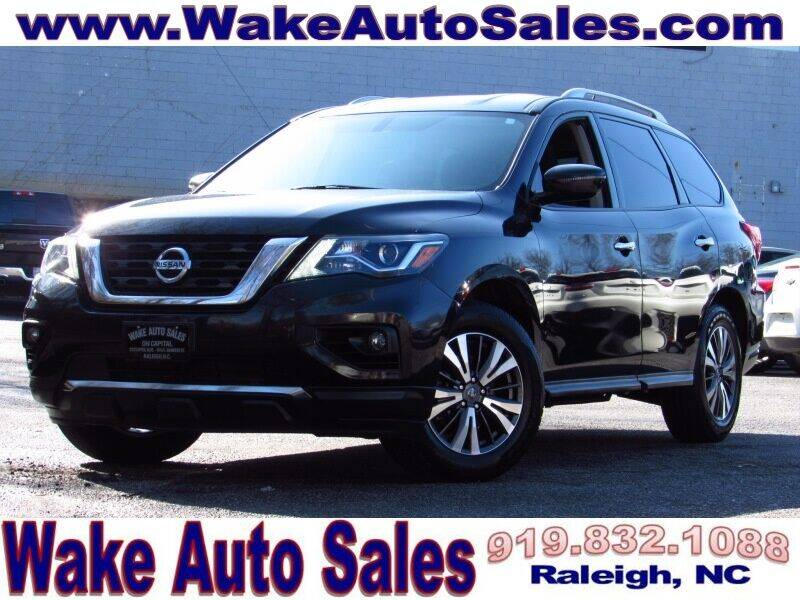 2017 Nissan Pathfinder for sale at Wake Auto Sales Inc in Raleigh NC