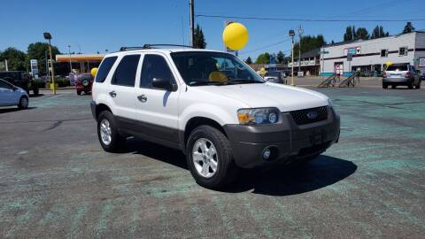 2007 Ford Escape for sale at Good Guys Used Cars Llc in East Olympia WA