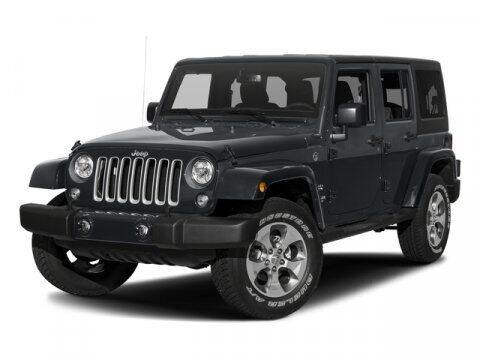 2017 Jeep Wrangler Unlimited for sale at HILAND TOYOTA in Moline IL