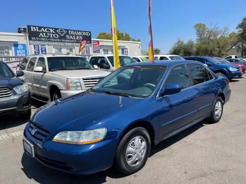 2002 Honda Accord for sale at Black Diamond Auto Sales Inc. in Rancho Cordova CA
