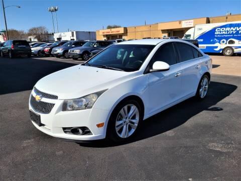 2013 Chevrolet Cruze for sale at Image Auto Sales in Dallas TX